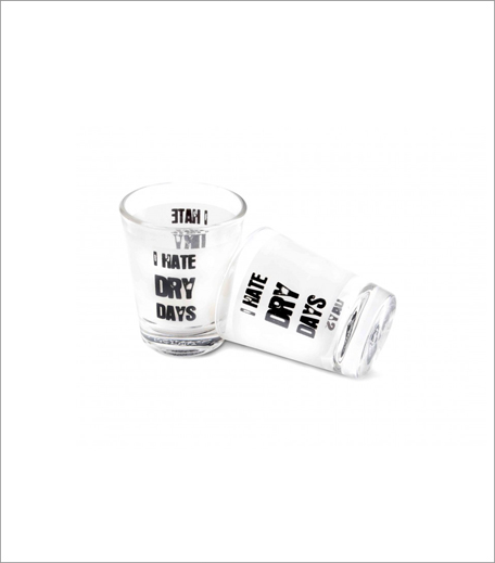 Happily Unmarried Dry Day Shot Glass (Rs 299)