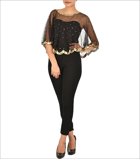 Sequinned Net Cape_HautePicks_Hauterfly