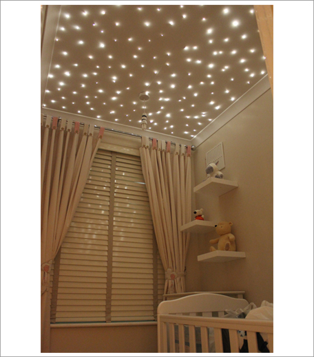 Ceiling fairy lights decor_Hauterfly