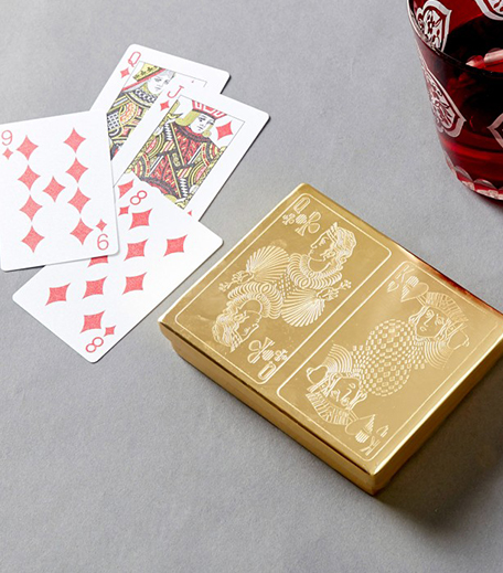 Gold Playing Card Box_Hauterfly