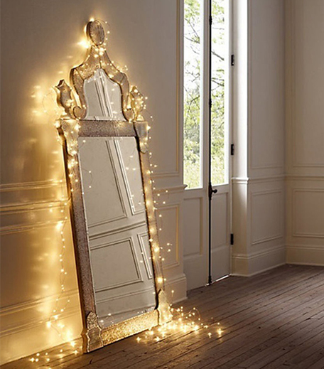Mirror fairy Lights Decor_Hauterfly
