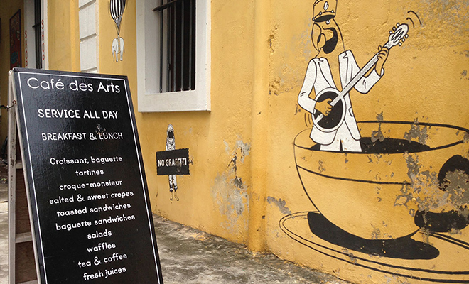 Cafe De Arts Pondicherry Favourite Hangout_Hauterfly