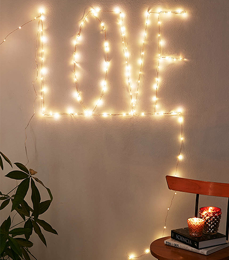 Love Words Fairy Lights Decor_Hauterfly