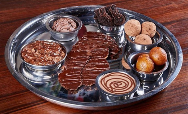 chocolate Thali_Hauterfly