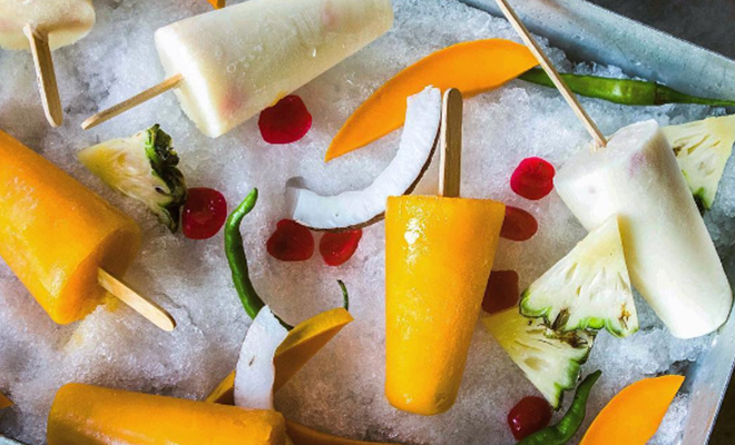 Mango and Pina Colada Kulfi_Hauterfly