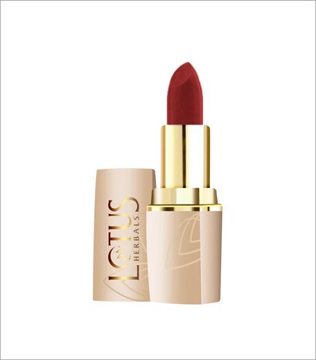 Lotus Herbals Pure Colors Moisturising Lipstick in Crimson Red