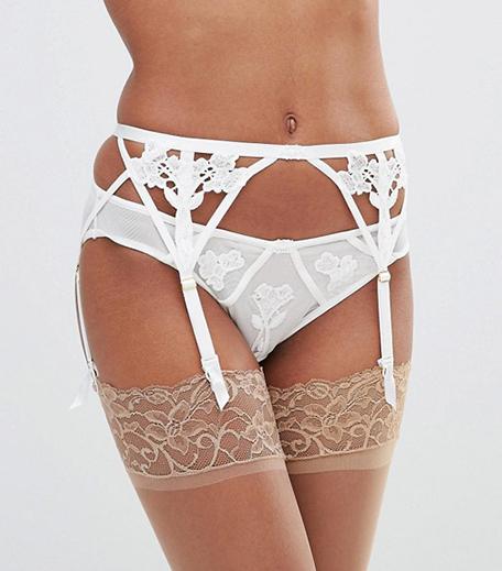 Bridal Lingerie_Bluebella Nova Bridal Suspenders_Hauterfly