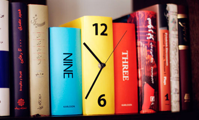 Book Clock_Hauterfly