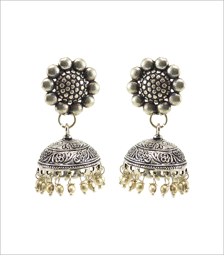 Fabstreet Silver Jhumkis_Boi's Budget Buys_Hauterfly