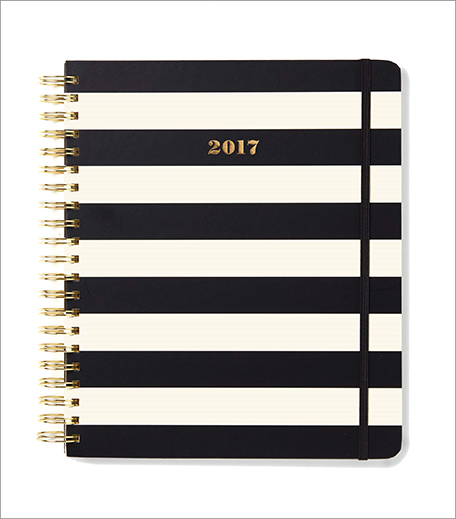 Kate Spade Mega Black Stripe 2017 Planner_Hauterfly