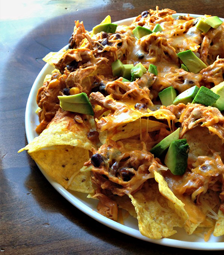 New Year Appetizers_Chicken Nachos_Hauterfly