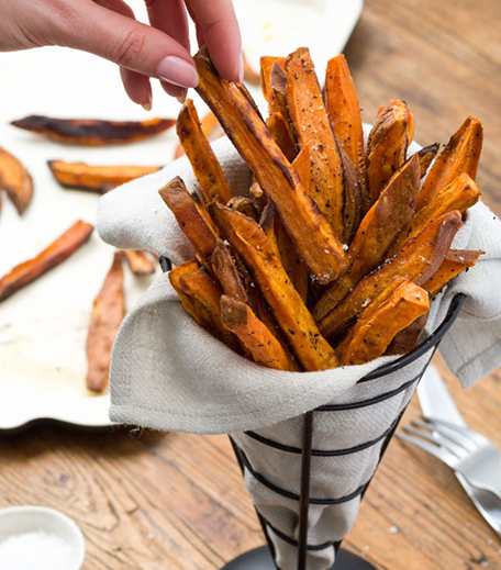 New Year Appetizers_Sweet Potato Fries_Hauterfly