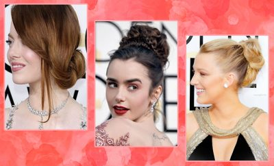 Golden Globes best hairstyles red carpet_Featured_Hauterfly