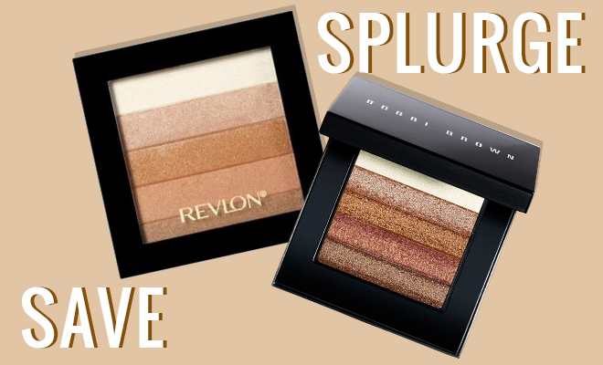 Save Vs Splurge Shimmer Brick Highlighters_Hauterfly