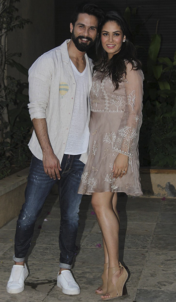 Shahid Kapoor Birthday Party_Hauterfly