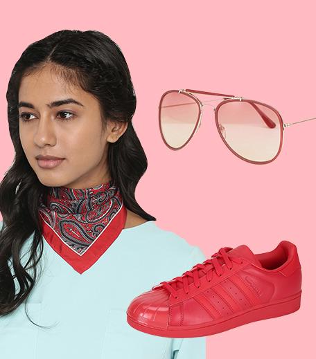 3 ways to wear red_Look 1_Hauterfly