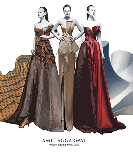 On The Eve Of Aifw Finale Designer Amit Aggarwal Talks About His Couture Collection Hauterfly