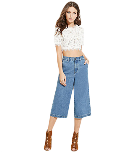 Forever 21 Denim culottes_Boi's Budget Buys_Hauterfly