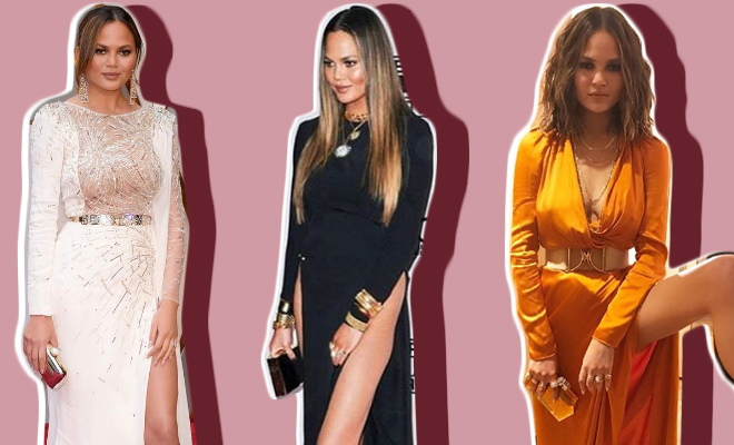 Chrissy Teigen_Slit Dress_Featured_Hauterfly