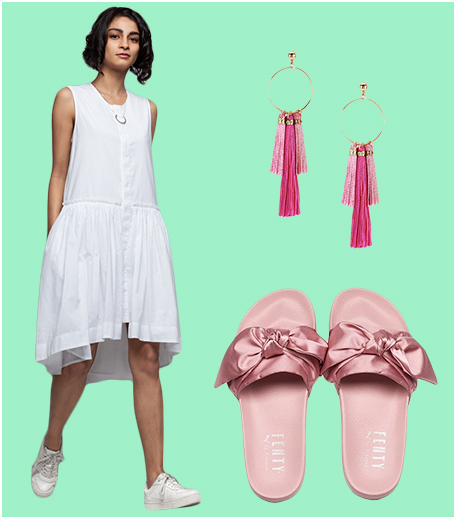 How to wear slides formally_Look 1_Hauterfly