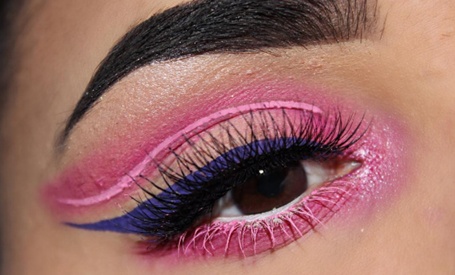 Neon Liner: Would You Dare To Try This Trend?   Hauterfly