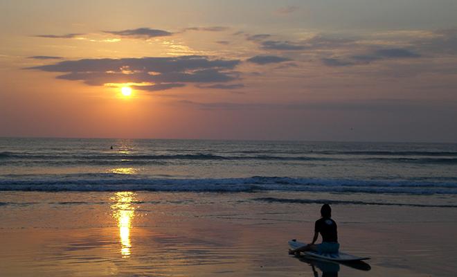 Surfing In Gokarna_Hauterfly