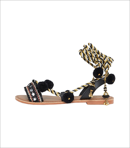 ASOS pom pom sandal-Hauterfly