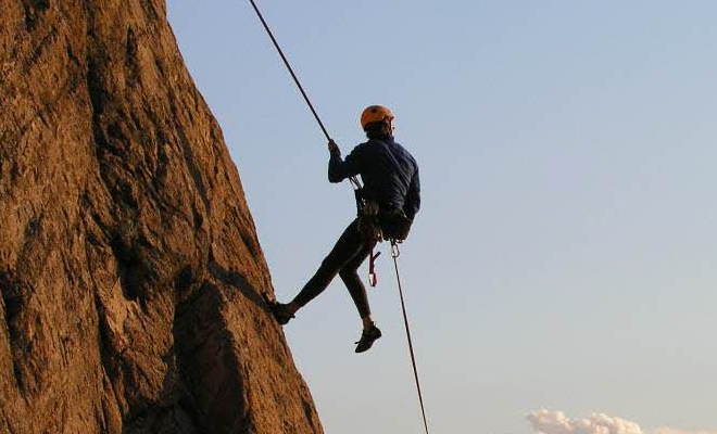 Rappelling In Himachal_hauterfly