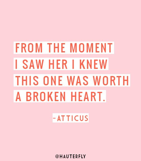 Love Quotes By Atticus_hauterfly
