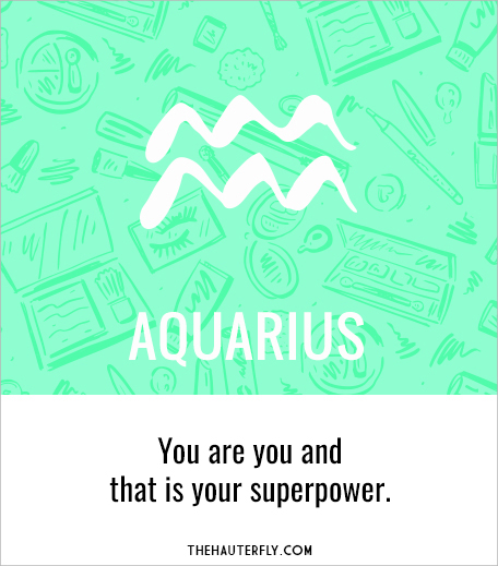 Aquarius_Weekly Horoscope_May 1-7 2017_Hauterfly