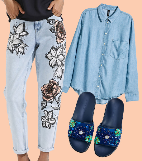 3 ways to wear Florals_Look 1_Hauterfly