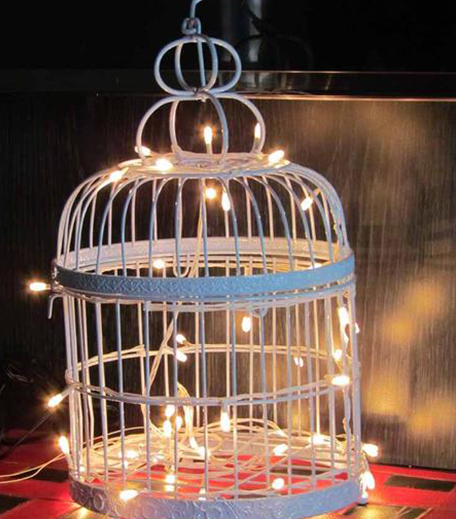 PropShop24 THE BIRDCAGE - WHITE_Inpost