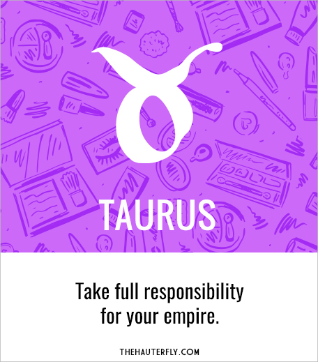 Taurus_Weekly Horoscope_May 1-7 2017_Hauterfly