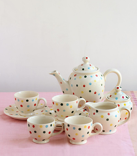Freedom Tree Colour Pop Tea Set-Hauterfly