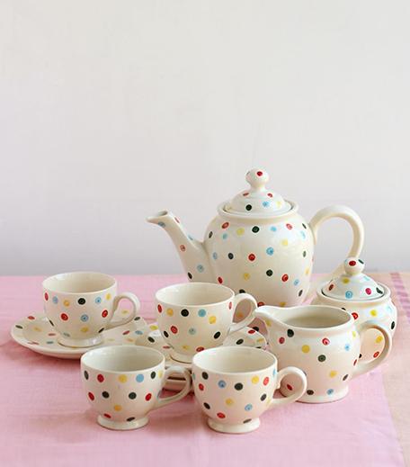 Freedom Tree Colour Pop Tea Set-Hauterfly