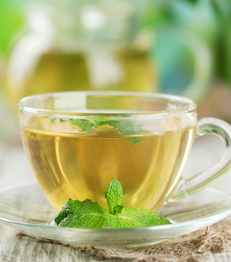 Spearmint Tea To Clear Acne_Featured_Hauterfly