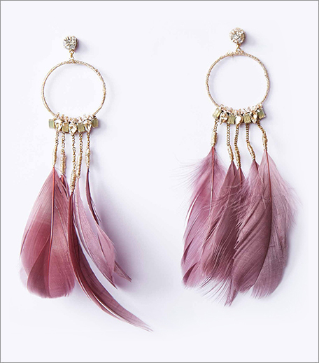 The Label Life Feather Earrings_Hauterfly
