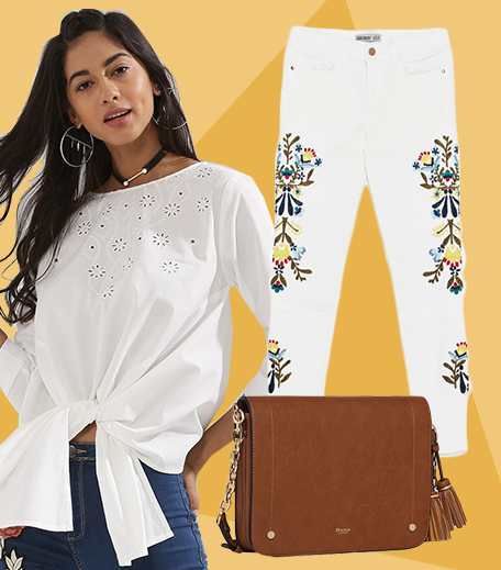 1 piece 3 ways_Embroidered Jeans_Look 1_Hauterfly
