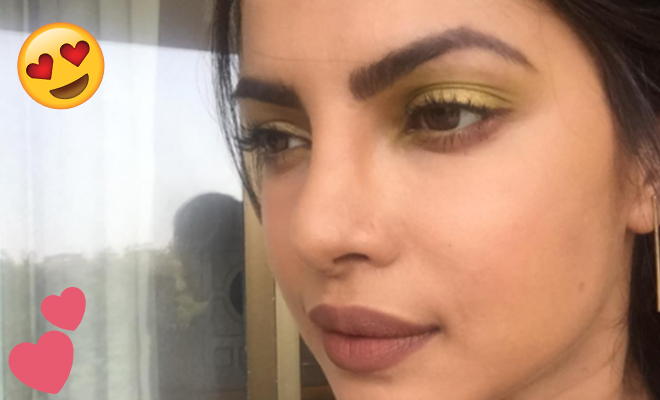 Priyanka Chopra Gold Eyeshadow_Featured_Hauterfly