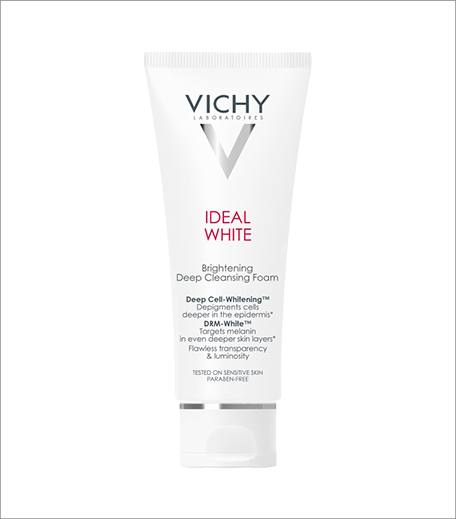 Vichy Ideal White Brightening Deep Cleansing Foam_Inpost_Hauterfly