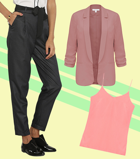 3 ways to wear pants to work_Look 1_Hauterfly