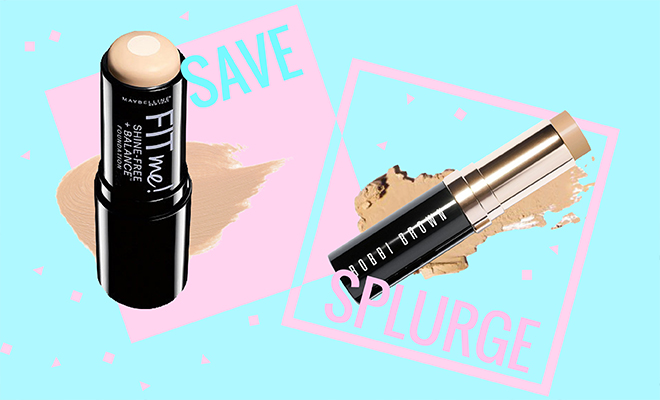 Makeup Dupes_Save Vs Splurge on Foundation sticks_Hauterfly