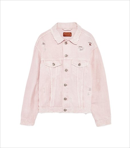 What is millenial pink_Zara denim jacket_Hauterfly