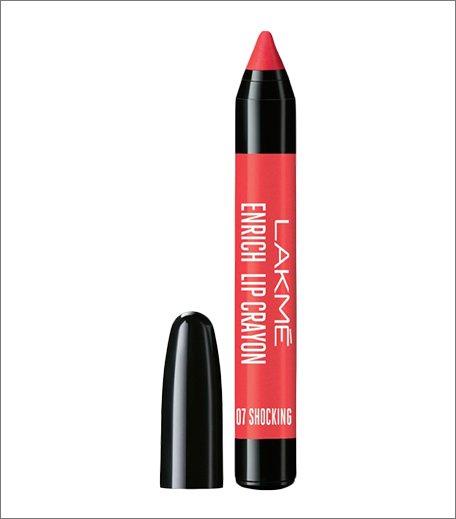 Must Have Lakme Lipsticks_Lakme Enrich Lip Crayon - Shocking Pink_Hauterfly