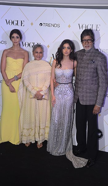 Vogue Beauty Awards_Bachchans_Hauterfly