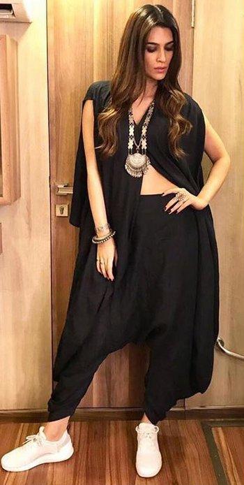 Kriti Sanon desi style_hauterfly