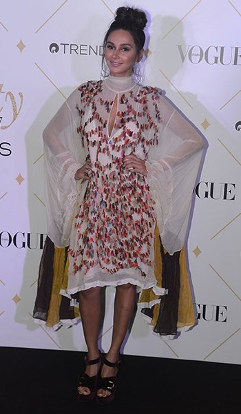 Vogue Beauty Awards_Shibani Dandekar_Hauterfly