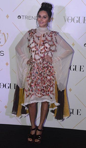 Vogue Beauty Awards_Shibani Dandekar_Hauterfly