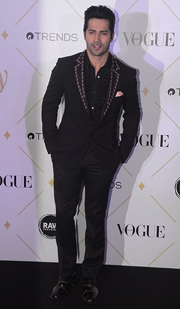 Vogue Beauty Awards_Varun Dhawan_Hauterfly