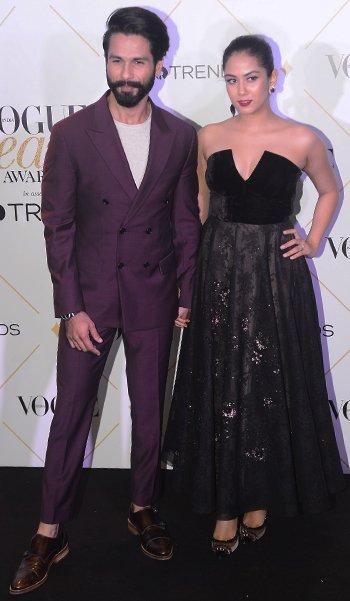 Vogue Beauty Awards_Shahid and Mira Kapoor_Hauterfly